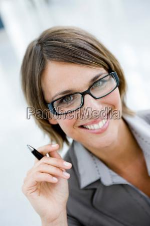 woman looking at viewer