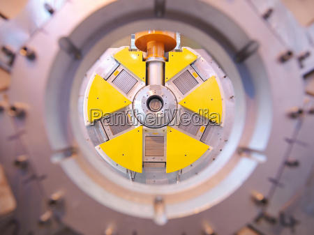part of particle accelerator