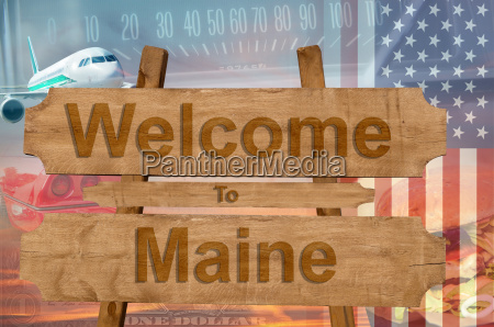 welcome to maine state in the
