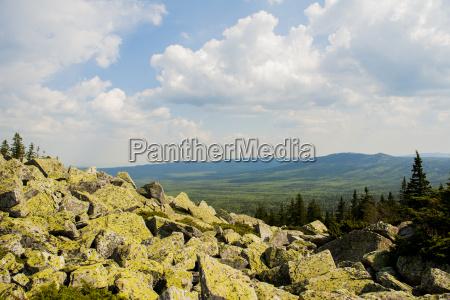 rocky landscape russia