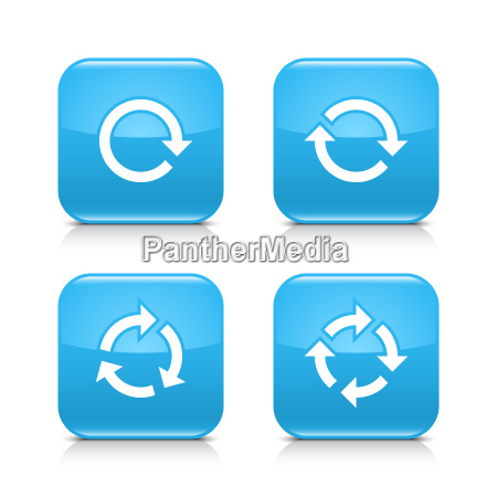 blue, arrow, refresh, , reload, , rotation, , repeat - 18510740