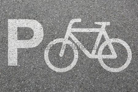 parking bicycle parking bicycle traffic urban
