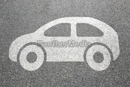 car vehicle road mobility pictogram