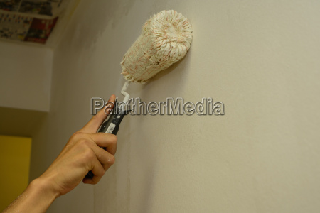 painters sweeps wall