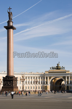 palace square st petersburg