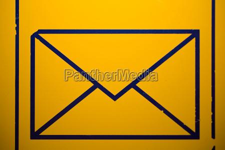 envelope sign