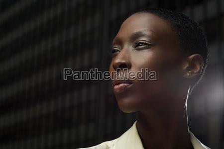 headshot of an african businesswoman