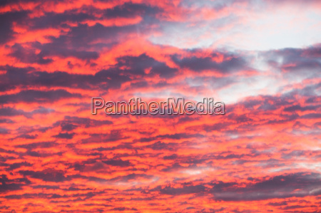 vibrant cloudscape