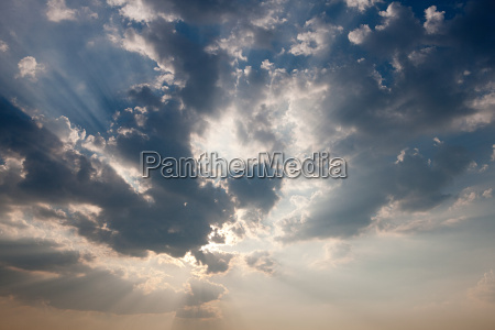 cloudscape and sky