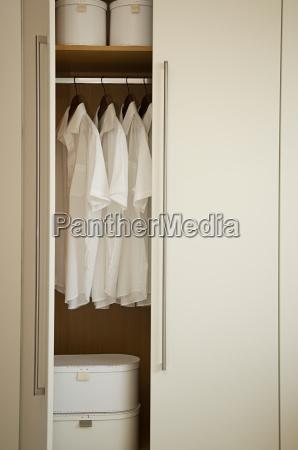 neat closet