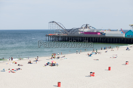 beach at seaside heights new jersey