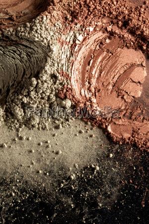 brown cosmetic powder pattern