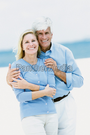 portrait of a couple on a