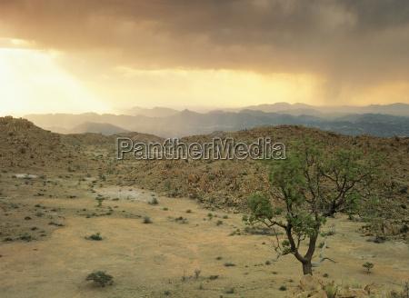 storm in damaraland namibia