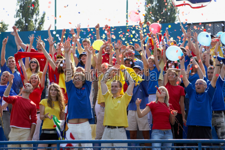 crowd cheering