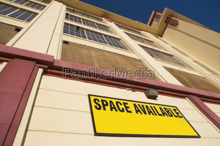 building with space available