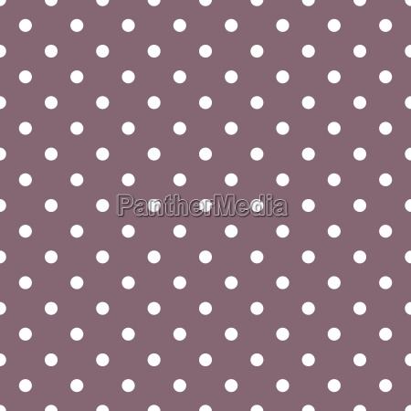 tile vector pattern with white polka