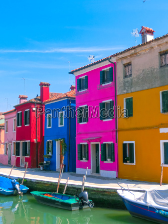 burano an island in the venetian