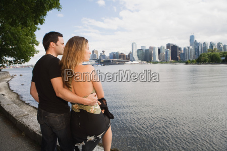 couple at cole harbour vancouver