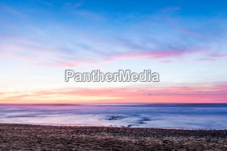 cloudy colourful sky at sunset encinitas