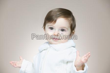 innocent looking baby girl
