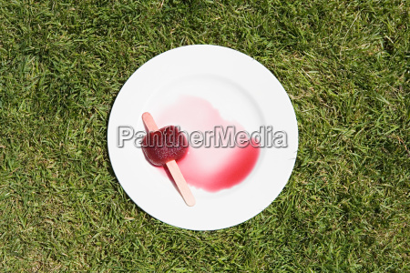 ice lolly melting
