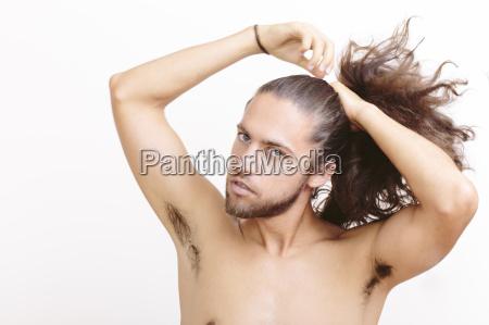 en casa bienestar masculino concentracion etiquetas