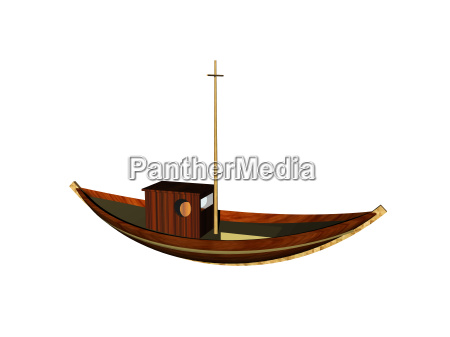 wooden fishing boat exempted