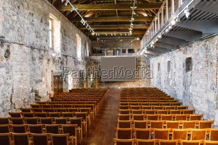 empty ancient room