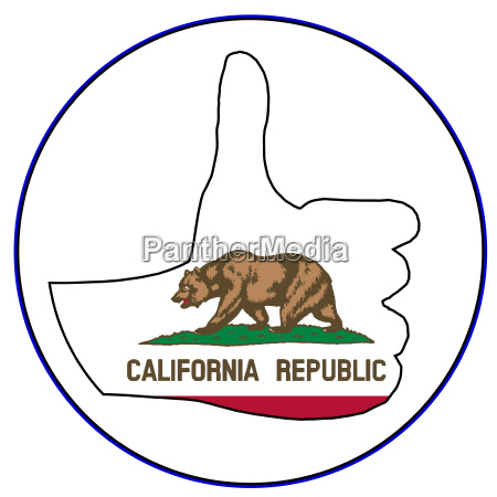 thumbs up california