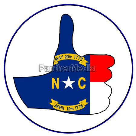 thumbs up north carolina