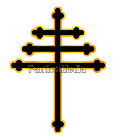 maronite christian cross