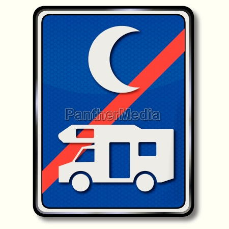 parking for motorhomes over the night