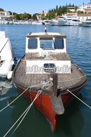 boat ship cutter trawler wood wooden