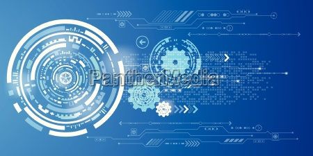 vector abstract background technology innovation