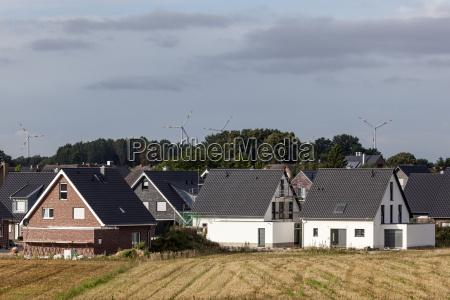 new german housing estate