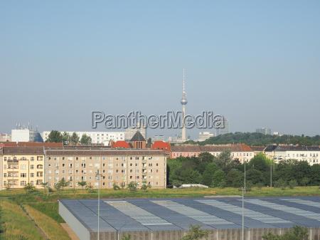 view of berlin skyline