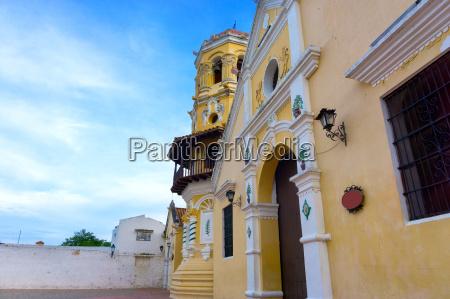 beautiful santa barbara church view