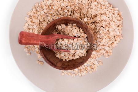 oatmeal flakes healthy eating