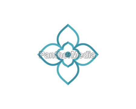 beauty vector flowers design logo template