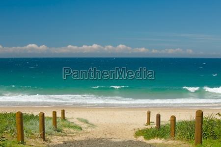 sandy ocean beach