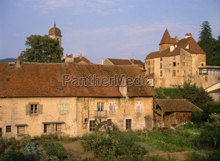 old stone houses in arbois a