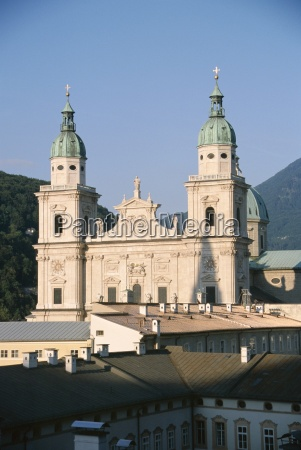 salzburg cathedral built between 1614 and