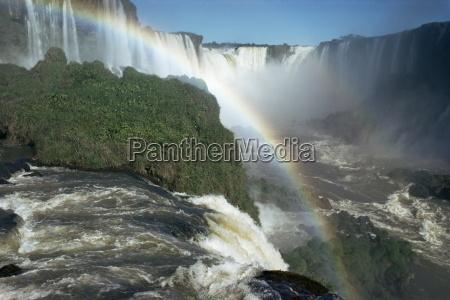 iguacu falls 600m high and 2470m