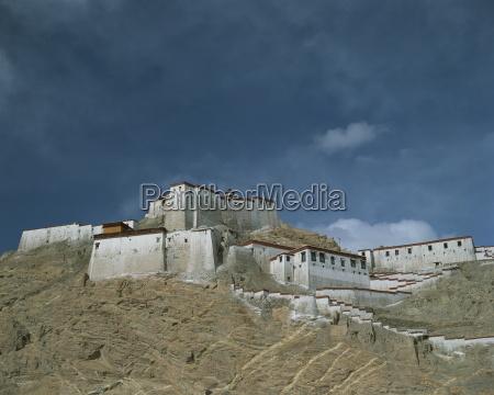 gyantse dzong fort tibet china asia