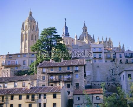 the cathedral and alcazar segovia unesco