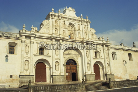 cathedral built in 1680 antigua unesco