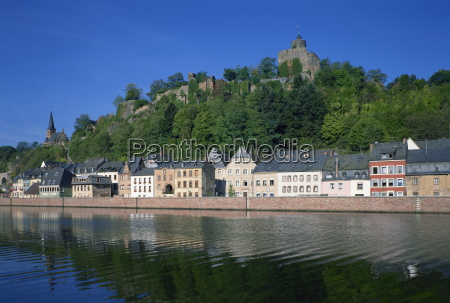 the river saar and the old