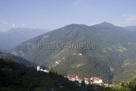 trongsa dzong trongsa bhutan himalayas asia