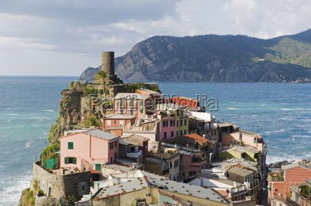 clifftop village of vernazza cinque terre